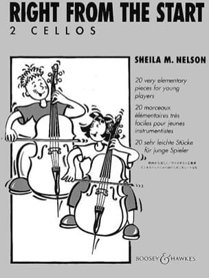 Sheila M. Nelson - Right from the Start – 2 Cellos - Partition - di-arezzo.fr