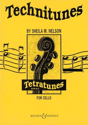 Sheila M. Nelson - Technitunes for Cello – 2 Violoncelles - Partition - di-arezzo.fr