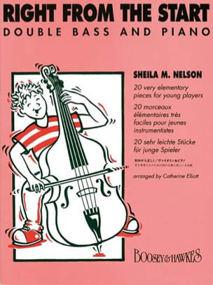 Right from the Start - Double bass Sheila M. Nelson laflutedepan