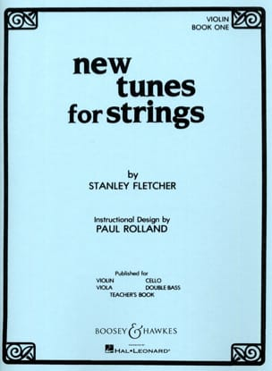 Stanley Fletcher - New Tunes For Strings Volume 1 – Violon - Partition - di-arezzo.fr