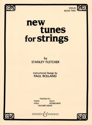 Stanley Fletcher - New Tunes For Strings Volume 2 – Violon - Partition - di-arezzo.fr