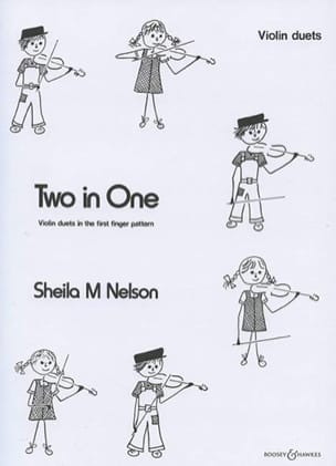 Sheila M. Nelson - Two in One – Violin duets - Partition - di-arezzo.fr
