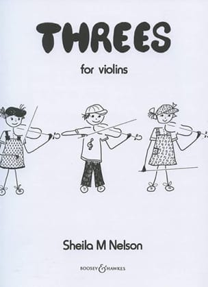 Sheila M. Nelson - Threes - Violins - Sheet Music - di-arezzo.co.uk