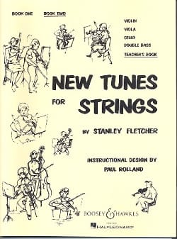 New Tunes For Strings Volume 2 - Teacher's Book laflutedepan