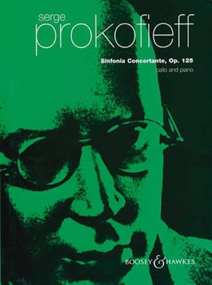 Serge Prokofiev - Concert Symphony op. 125 - Cello piano - Sheet Music - di-arezzo.co.uk