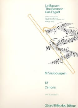 Marc Vaubourgoin - 12 guns - Sheet Music - di-arezzo.co.uk