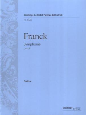 Symphonie en ré mineur - Partitur - FRANCK - laflutedepan.com