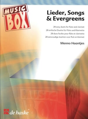 Lieder, Songs and Evergreens - Flöte Klarinette laflutedepan