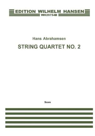 Hans Abrahamsen - String quartet n° 2 - Score - Partition - di-arezzo.fr