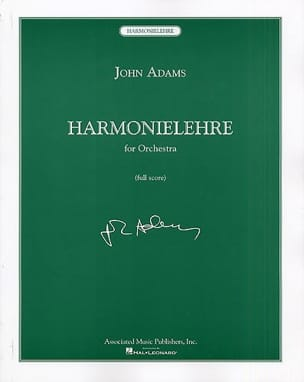 John Adams - Harmonielehre - Partition - di-arezzo.fr
