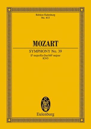 MOZART - Symphonie Es-Dur KV 543 - Partitur - Partition - di-arezzo.fr