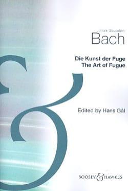 Die Kunst der Fuge - Partitur - BACH - Partition - laflutedepan.com