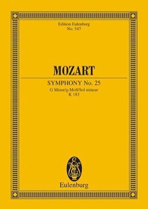 Symphonie g-Moll KV 183 - Partitur MOZART Partition laflutedepan