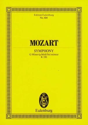 MOZART - Symphony Nr. 40 g-moll KV 550 - Partitur - Sheet Music - di-arezzo.co.uk