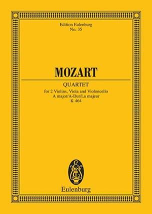Streich-Quartett A-Dur (Kv 464) - MOZART - laflutedepan.com