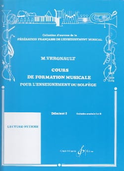 Michel Vergnault - Musical Training Course - Beginner 2 - Sheet Music - di-arezzo.com