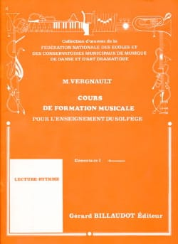 Michel Vergnault - Music Training Course - Elementary 2 - Sheet Music - di-arezzo.com