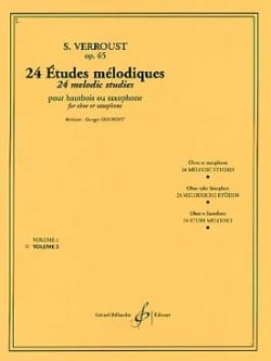 Stanislas Verroust - 24 Melodic studies op. 65 - Volume 2 - Sheet Music - di-arezzo.co.uk
