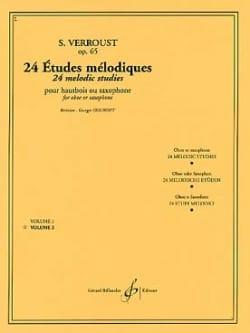 Stanislas Verroust - 24 Melodic studies op. 65 - Volume 2 - Sheet Music - di-arezzo.com