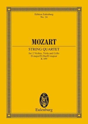 MOZART - Streich-Quartett D-Dur (Kv 499) - Partition - di-arezzo.fr