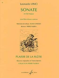 Leonardo Vinci - Sonate en Sol Majeur - Partition - di-arezzo.fr
