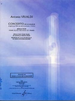 VIVALDI - Concerto In C Major F. 6 N ° 4 - Sheet Music - di-arezzo.com