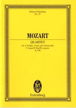 Streich-Quartett F-Dur Kv 590 - MOZART - Partition - laflutedepan.com