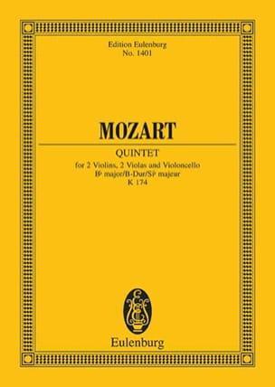 Streich-Quintett B-Dur (Kv 174) - MOZART - laflutedepan.com