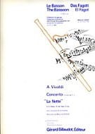 VIVALDI - Concerto F. 8 n ° 1 The Notte in major sib - Sheet Music - di-arezzo.co.uk