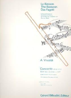 Concerto F. 8 n° 14 en do mineur VIVALDI Partition laflutedepan