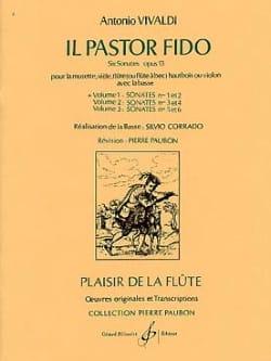 Antonio Vivaldi - Il Pastor Fido op. 13 - Volume 1 - Flûte Bc - Partition - di-arezzo.fr