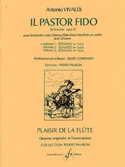 Il Pastor Fido op. 13 - Volume 1 - Flûte Bc VIVALDI laflutedepan