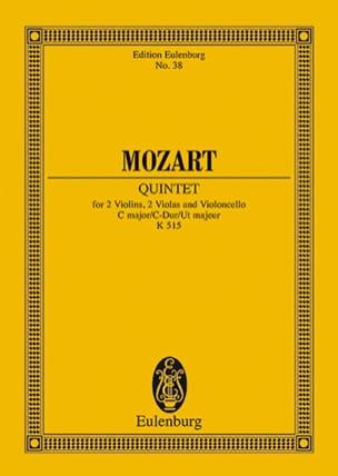 Streich-Quintett C-Dur Kv 515 - MOZART - Partition - laflutedepan.com