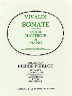 VIVALDI - C minor sonata - Oboe - Sheet Music - di-arezzo.co.uk