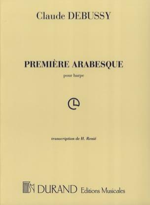 DEBUSSY - Arabesque N°1 Harpe - Partition - di-arezzo.fr