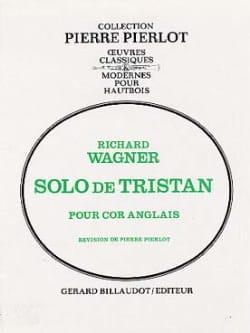 Richard Wagner - Solo de Tristan - Partition - di-arezzo.fr