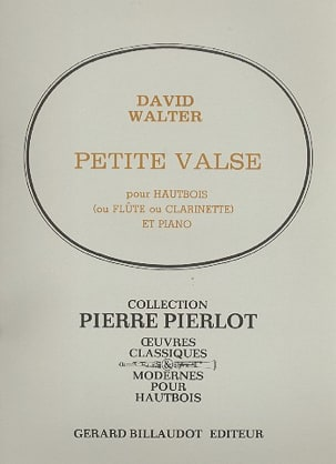 David Walter - Petite valse - Partition - di-arezzo.fr
