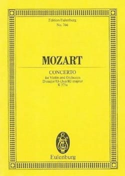 Violin-Konzert D-Dur (KV 271a) - laflutedepan.com