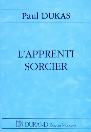 Paul Dukas - The Sorcerer's Apprentice - Sheet Music - di-arezzo.com