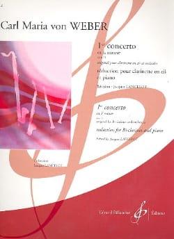 Concerto N° 1 Fa Mineur Op. 73 Carl Maria von Weber laflutedepan