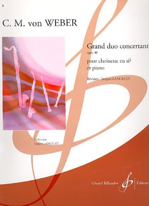 Carl Maria von Weber - Grand concerting duo op. 48 - Sheet Music - di-arezzo.co.uk