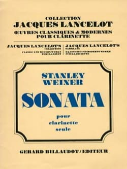 Stanley Weiner - Sonata op. 34 - Partition - di-arezzo.fr