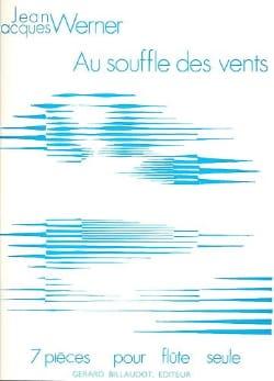 Jean-Jacques Werner - Au souffle des vents - Partition - di-arezzo.fr