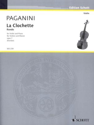 La Clochette op. 7 (Kreisler) - Niccolò Paganini - laflutedepan.com