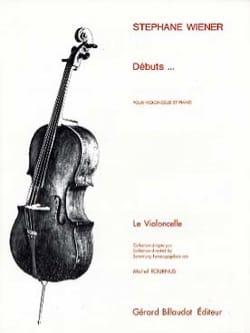 Stéphane Wiener - Débuts ... - Partition - di-arezzo.fr