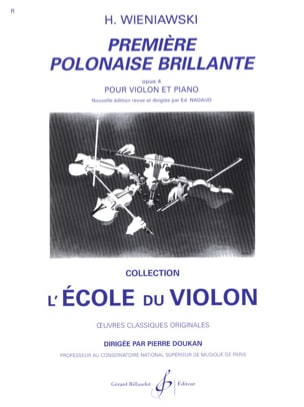 WIENIAWSKI - First brilliant Polish op. 4 - Sheet Music - di-arezzo.com