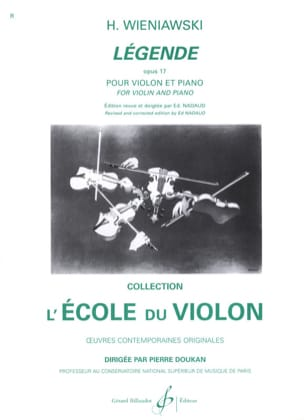 WIENIAWSKI - Legend op. 17 - Sheet Music - di-arezzo.co.uk