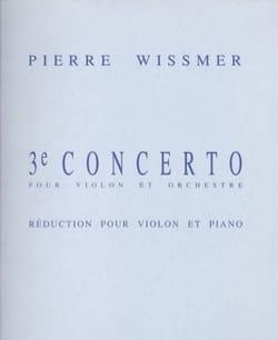 Pierre Wissmer - Concerto n° 3 - Partition - di-arezzo.fr