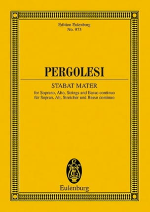 Giovanni Battista Pergolesi - Stabat Mater - Partitur - Sheet Music - di-arezzo.co.uk