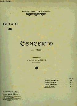 Edouard Lalo - Violin Concerto op. 20 - Sheet Music - di-arezzo.com